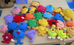 Mr Men and Little Miss McDonalds Soft Toys